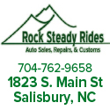 Rock Steady Rides